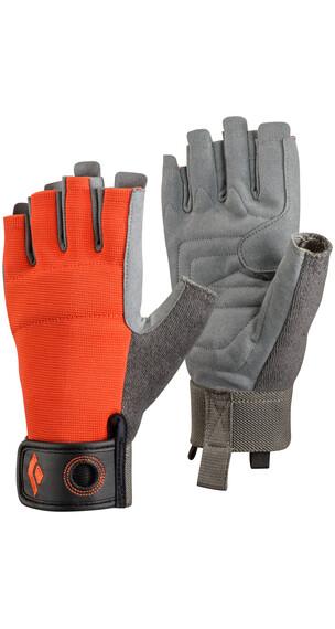 Black Diamond Crag Half-Finger - Gants - gris/orange